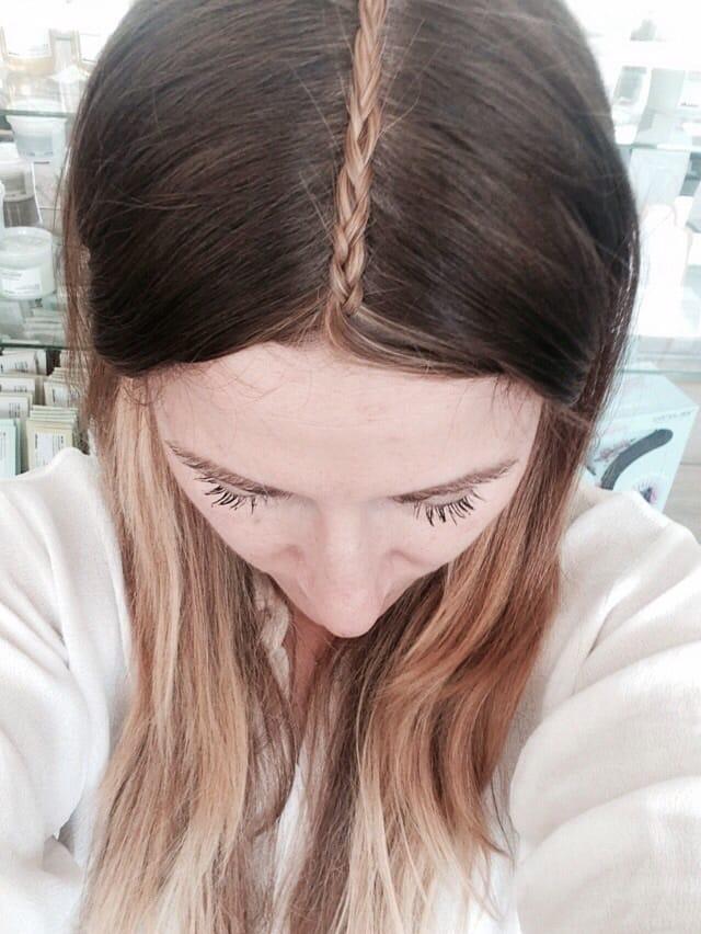 How To So Geht Kate Bosworth S Mittelscheitel Zopf