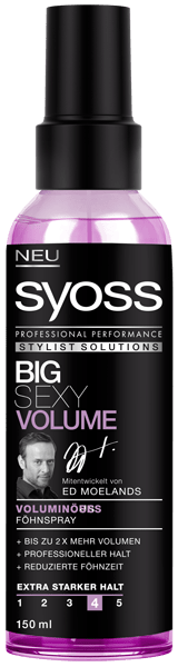 Syoss Stylist Solutions Föhnspray Big Sexy Volume