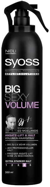 Syoss Stylist Solutions Haarspray Big Sexy Volume