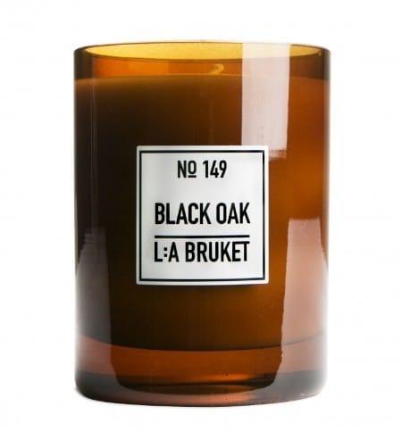 LA BRUKET N149 Duftkerze Black Oak