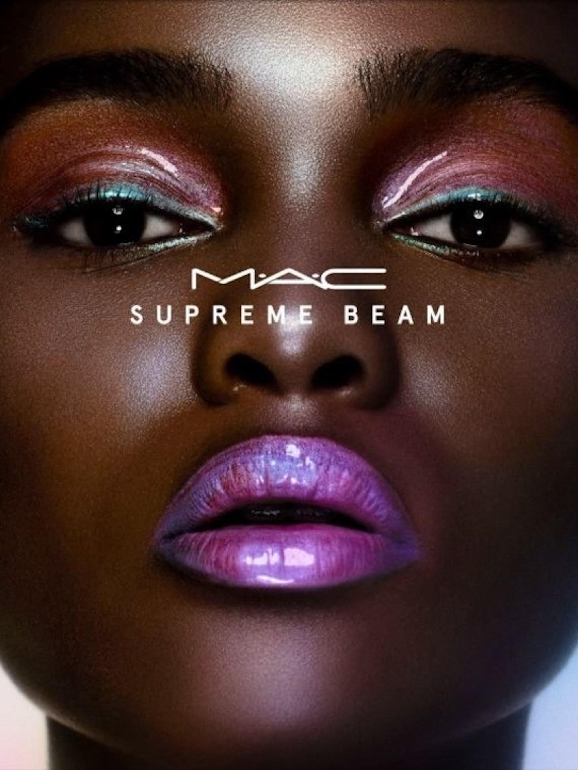 make up die 39 supreme beam 39 collection von mac cosmetics. Black Bedroom Furniture Sets. Home Design Ideas